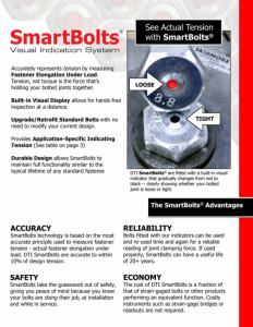 SmartBolts Brochure | SmartBolts.com