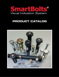SmartBolts Product Catalog | SmartBolts.com